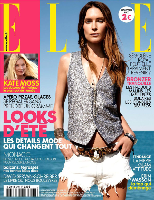erin wasson elle france june 2011 cover