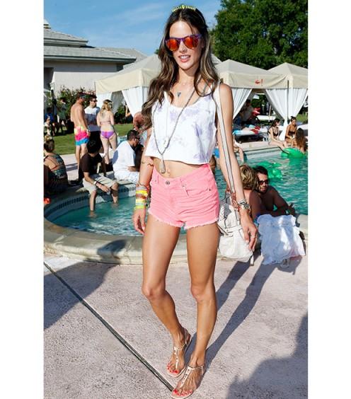 Alessandra Ambrosio Coachella 2013