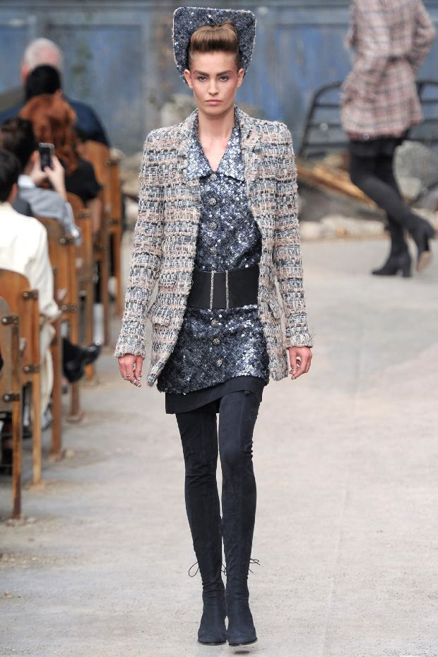 Chanel couture invierno 2013 / Chanel couture fall 2013