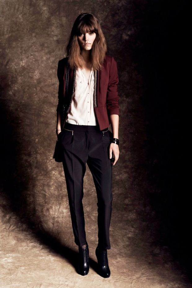 freja beha en el lookbook de reserved otoño 2013 / freja beha en el lookbook de reserved fall 2013