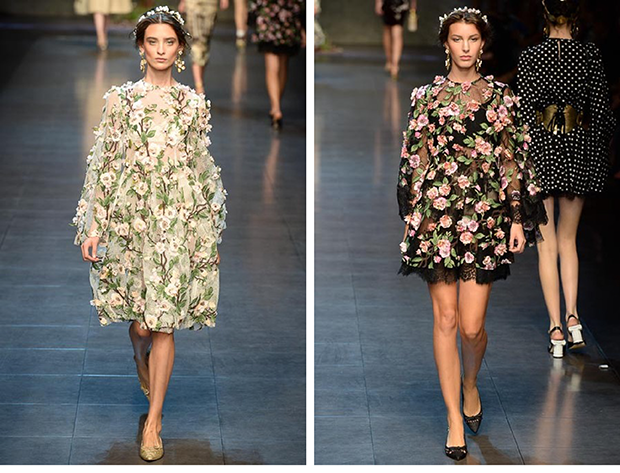 dolce & gabbana primavera verano 2014 / dolce & gabbana summer spring 2014 / milan fashion week