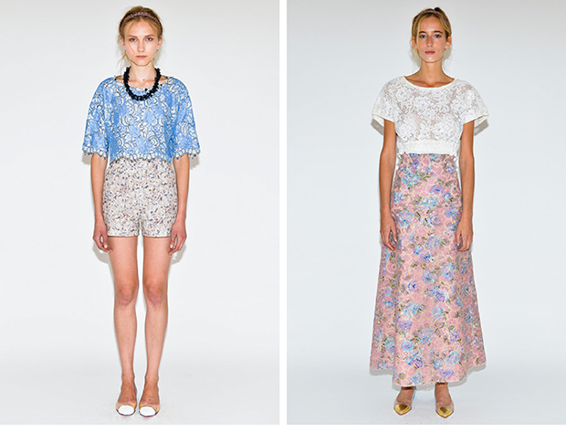 gregory parkinson spring summer 2014 / gregory parkinson primavera verano 2014 / new york fashion week