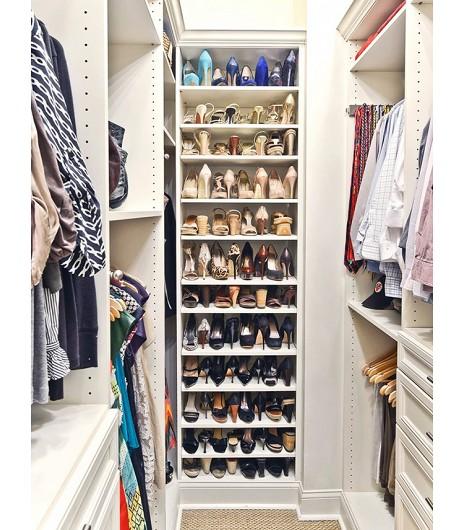 13 Formas Creativas De Ordenar Tus Zapatos Inspiradas Por