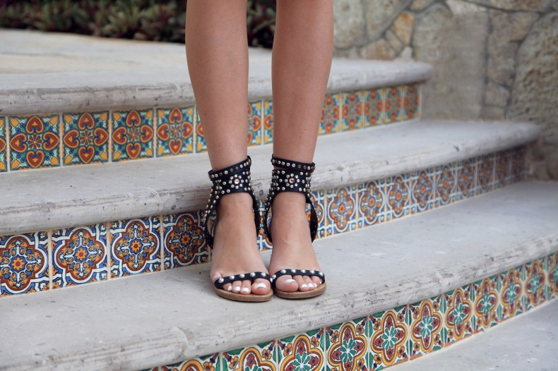 ISABEL MARANT studded SANDALS
