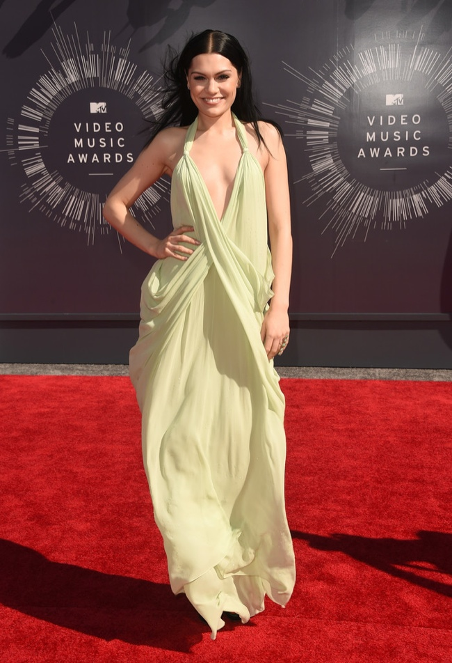 jessie-j-vmas-mtv-vintage-halston-dress