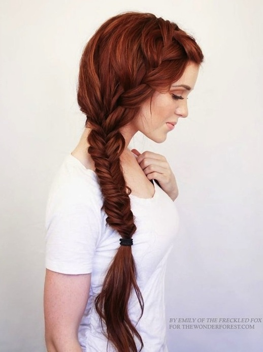 4-Le-Fashion-Blog-30-Inspiring-Fishtail-Braids-Red-Romantic-Side-Braid-Hair-Style-Via-The-Wonder-Forest