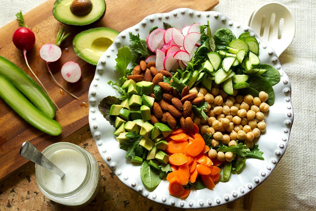 Aida-Mollenkamp-Vegetarian-Chopped-Salad-Recipe
