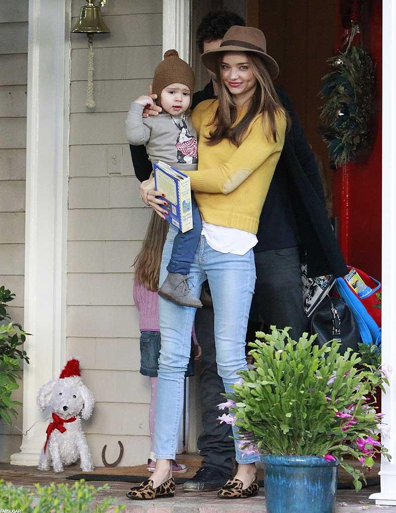 Miranda-celebrated-holidays-baby-Flynn-pair