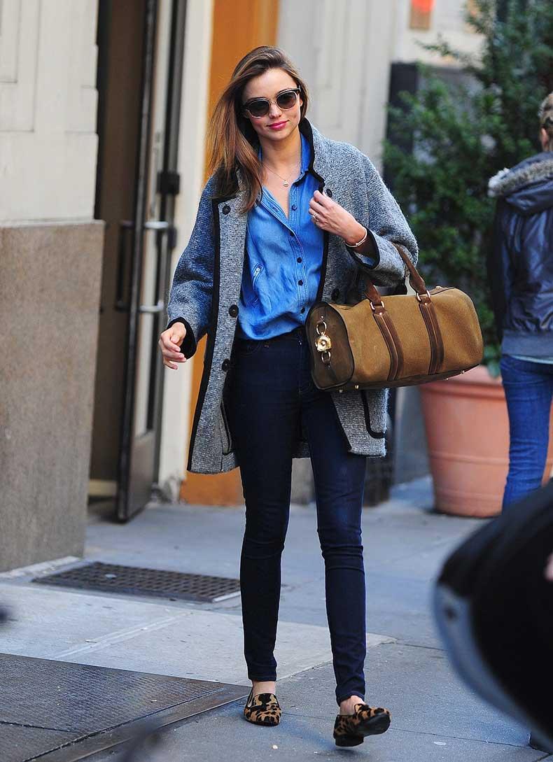 Miranda-presented-perfect-weekend-look-her-Isabel-Marant-coat