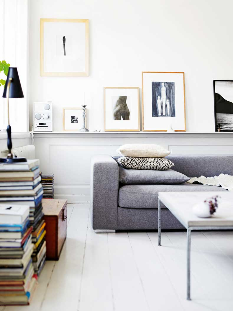 Scandinavian-living-room-with-grey-Bo-Concept-felt-sofa