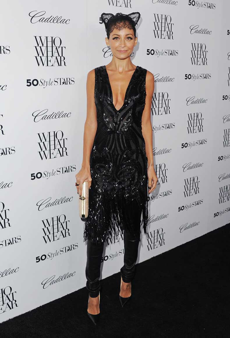 She-rocked-lace-cat-ears-Who-What-Wear-event-LA-October