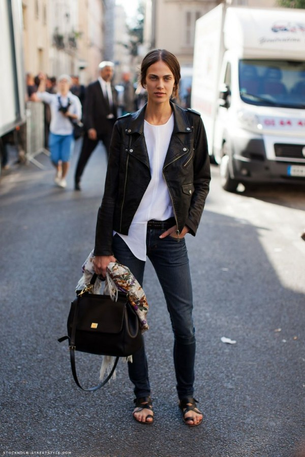 denim-pants-and-leather-jacket