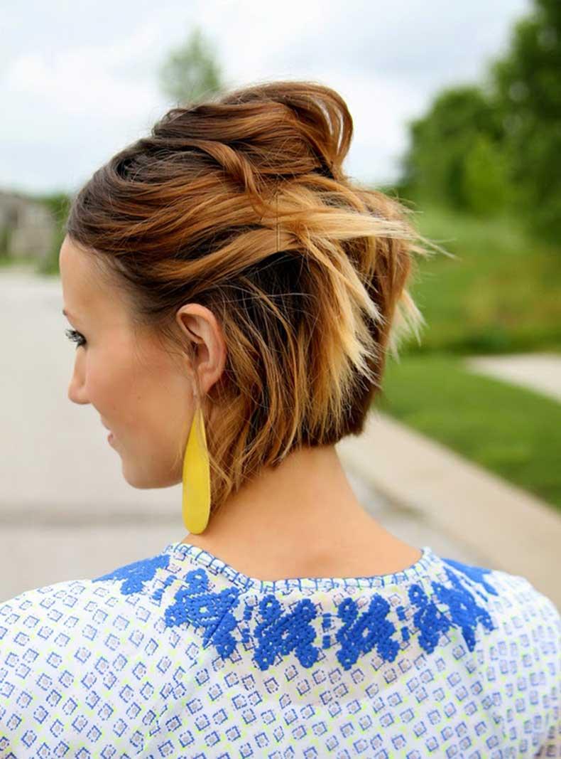 pinned-back-hair