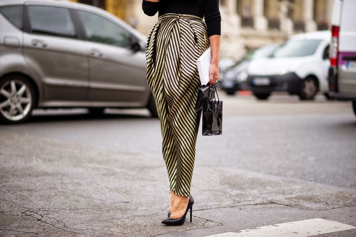 trendy trousers-street style-harem pants-baggy pants-fashion-trends