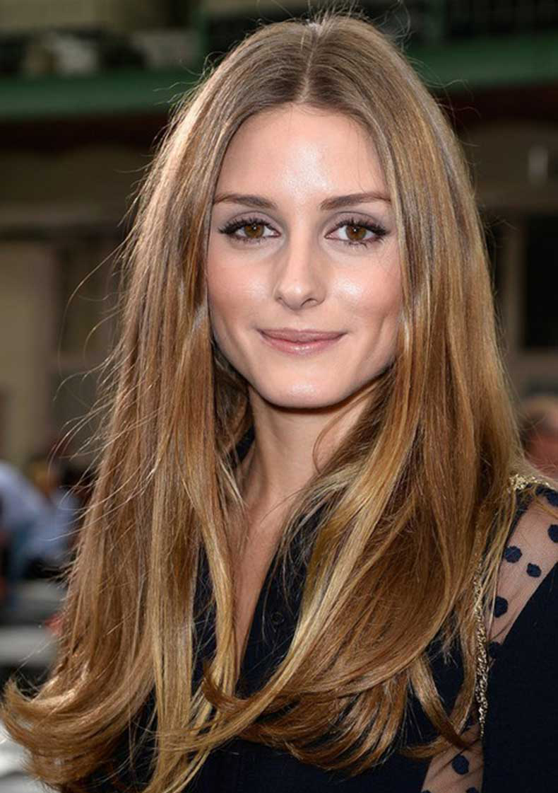 Olivia-Palermo-Hairstyles-Long-Center-parted-Hairstyle