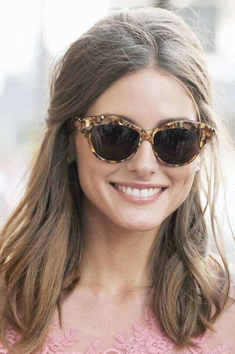 Olivia-Palermo-Hairstyles-Stylish-Half-up-Half-down