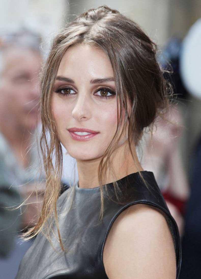 Olivia-Palermo-Hairstyles-Voguish-Messy-Updo