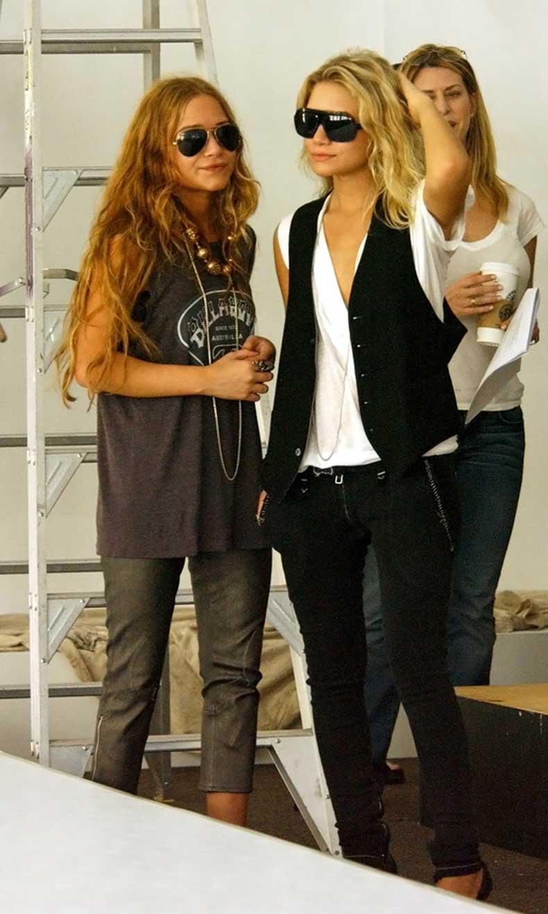 Olsens-Anonymous-Blog-Mary-Kate-And-Ashley-Olsen-Throw-Back-Thursday-Rocker-Chic-Muscle-Tank-Leather-Denim-Auburn-Long-Hair