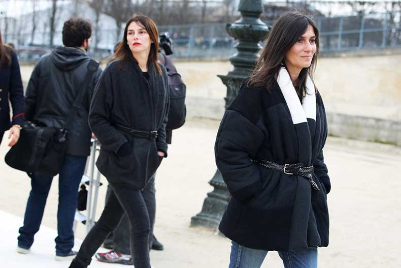 emmanuelle-alt-street-style-fashion-week-paris-fall-winter-2014-2015-coat-belt