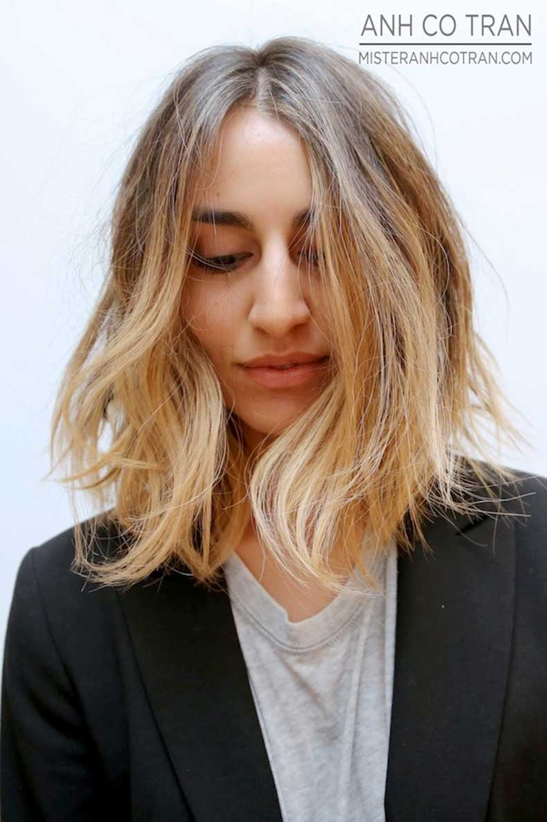 Le-Fashion-Blog-Hair-Inspiration-Long-Subtle-Ombre-Bob-Sombre-Lob-Grey-Tee-Black-Blazer-Via-Anh-Co-Tran