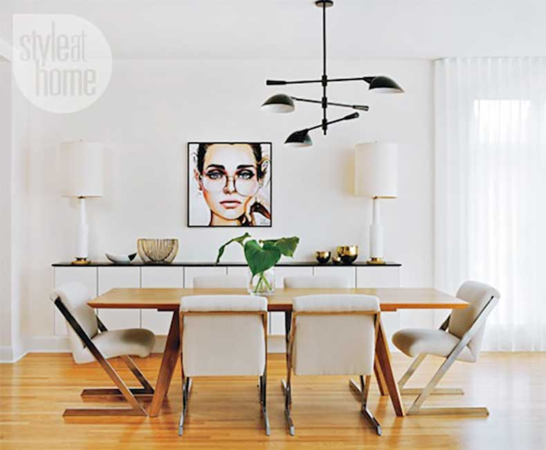 Le-Fashion-Blog-A-Fashionable-Home-Mid-Century-Modern-Glamour-Canada-Style-At-Home-Magazine-Sarah-Blakely-Dining-Room-4