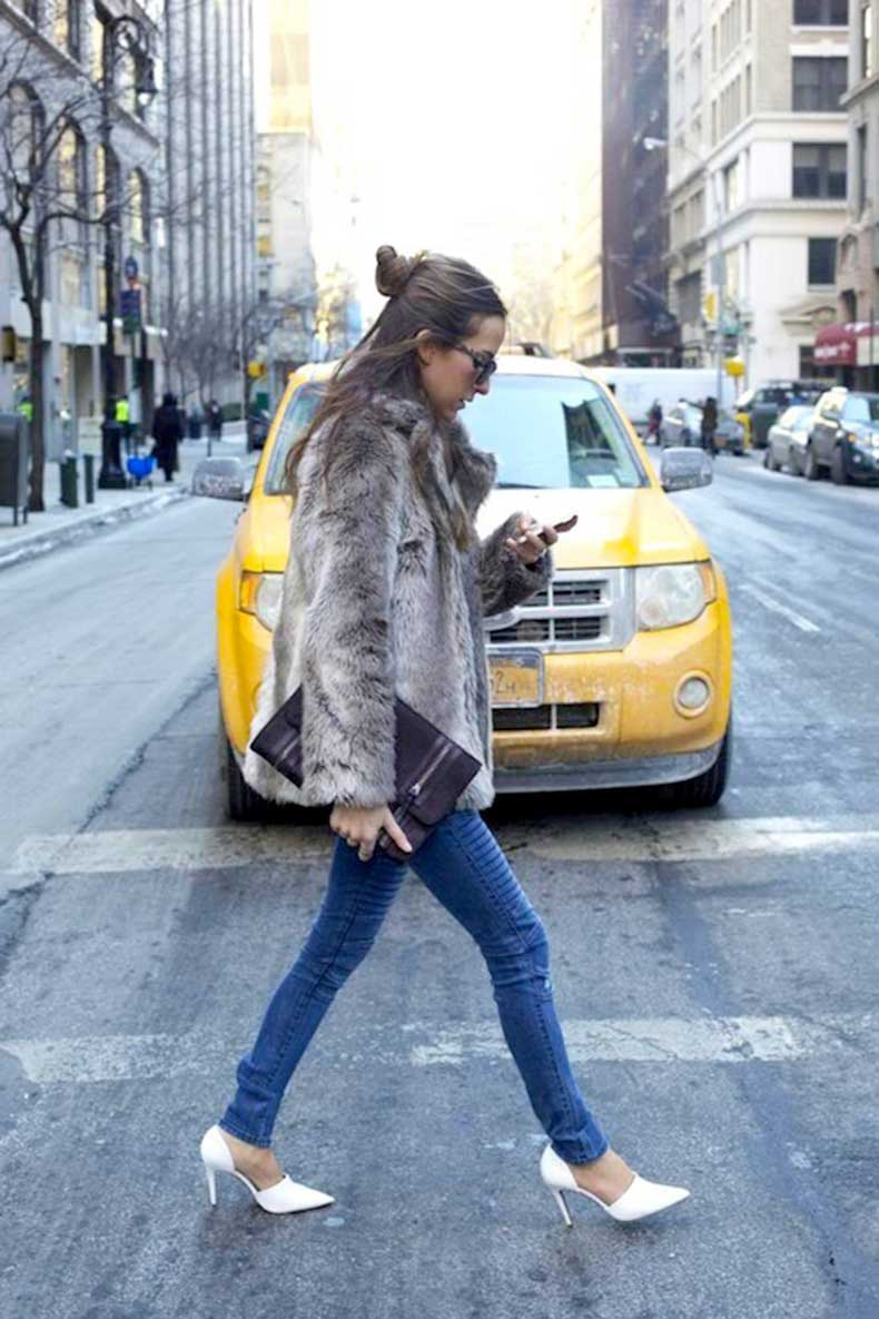 15-Le-Fashion-Blog-19-Ways-To-Wear-A-Half-Up-Top-Knot-Bun-Long-Brown-Hair-Via-Something-Navy