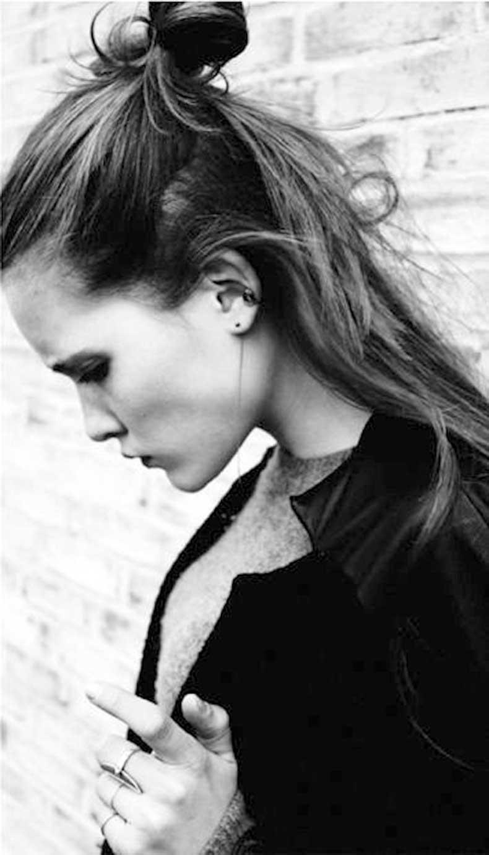 6-Le-Fashion-Blog-19-Ways-To-Wear-A-Half-Up-Top-Knot-Bun-Long-Hair-Rings-Via-Johanne-Bruun