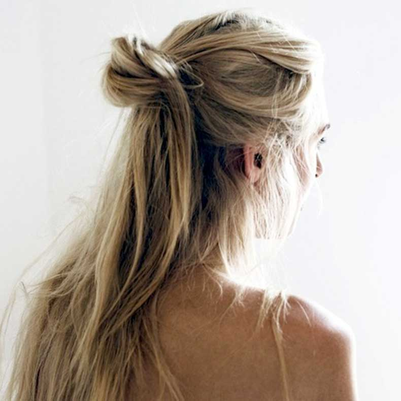 8-Le-Fashion-Blog-19-Ways-To-Wear-A-Half-Up-Top-Knot-Bun-Highlights-Hair-Via-Oracle-Fox