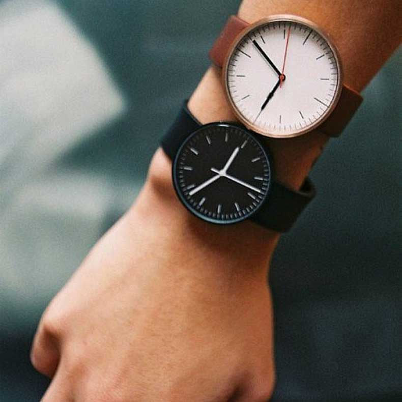 Find-two-watches-same-sleek-round-face-rock-them