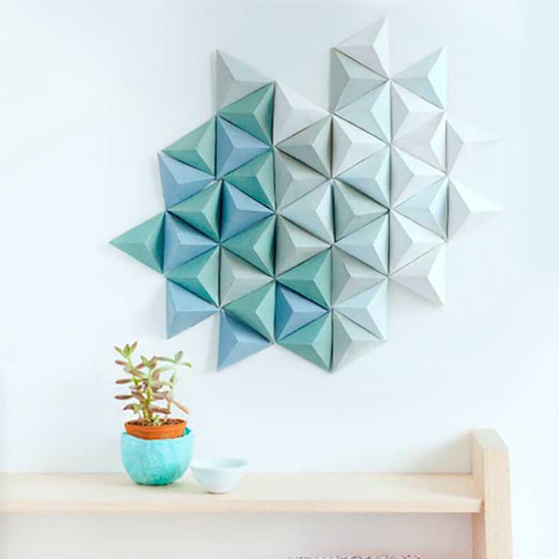 Geometricwallart