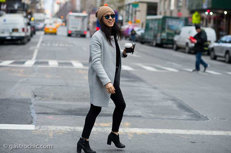 Gray-Coat-and-Beige-Hat-Madison-Avenue