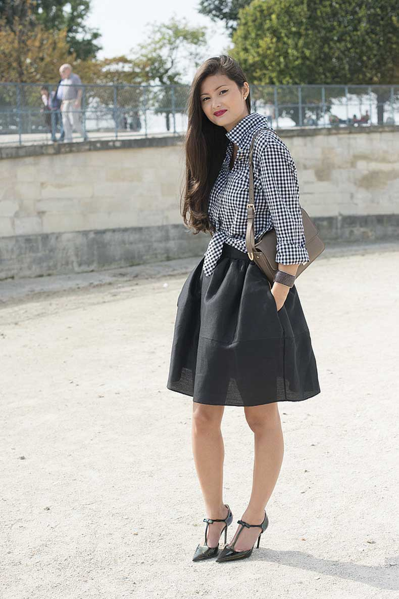 Knotted-full-skirt