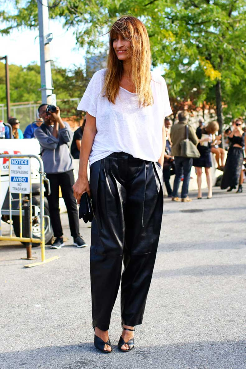 caroline-de-maigret-leather-pants