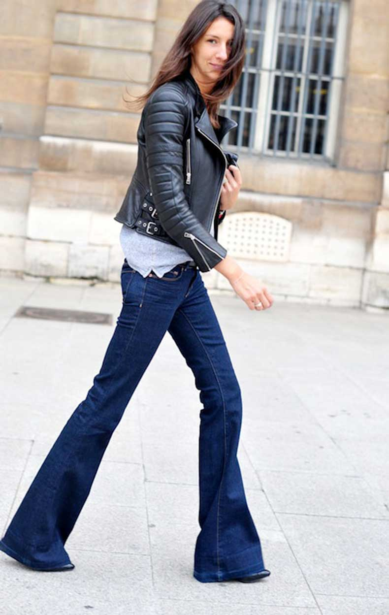 1-Le-Fashion-Blog-9-Ways-To-Wear-Flared-Jeans-Wide-Leg-Denim-Street-Style-Geraldine-Saglio-Leather-Jacket-Via-Hanneli