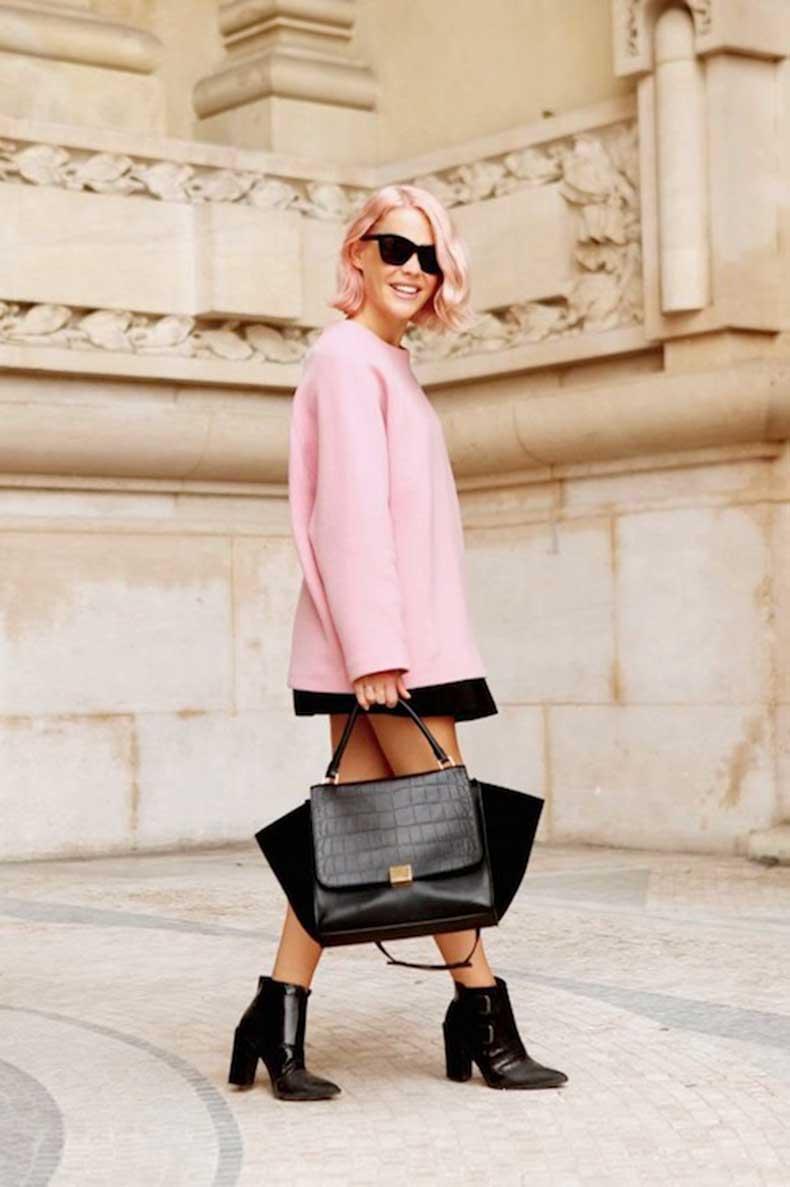 3-Le-Fashion-Blog-7-Inspiring-Pink-Ombre-Hair-Looks-Short-Bob-Celine-Bag-Jessie-Bush-We-The-People