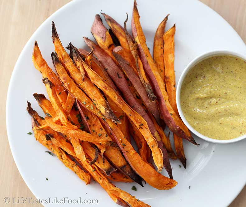 Baked-Sweet-Potato-Fries