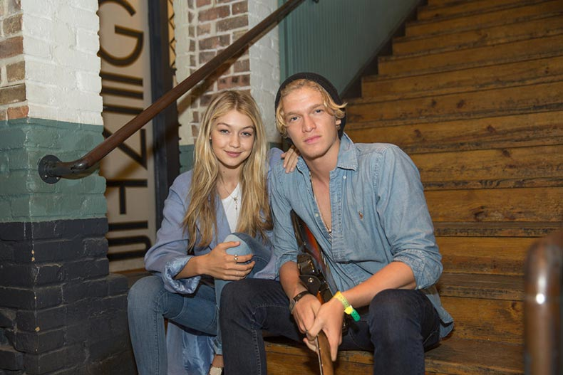 Gigi-Cody-coordinated-denim-International-Day-Happiness