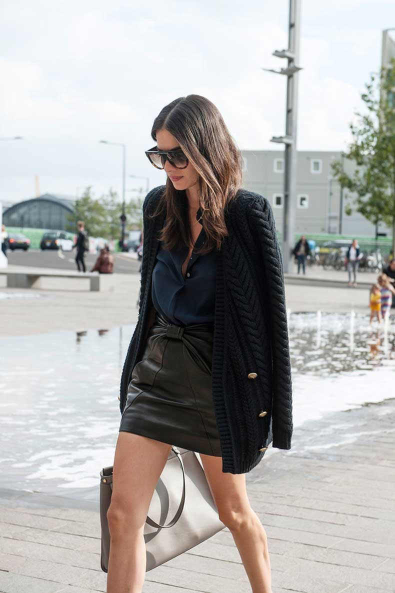 Keep-leather-skirt-easy-chic-uncomplicated-blouse-up