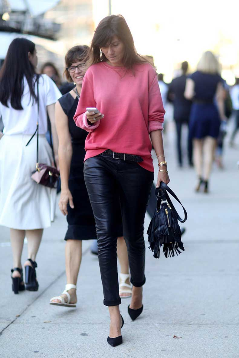 Make-your-sweatshirts-infinitely-cooler-when-you-add-leather-pants
