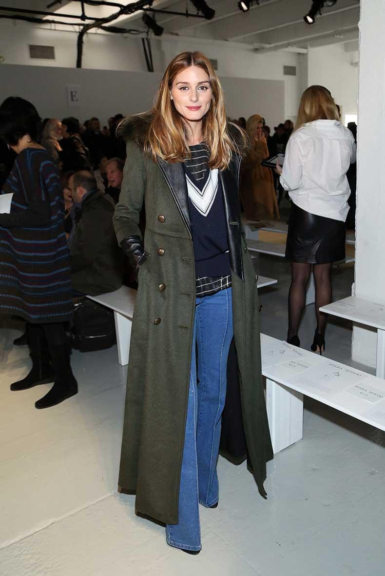 Misha-Nonoo-show-Olivia-brought-70s-style-flared-jeans