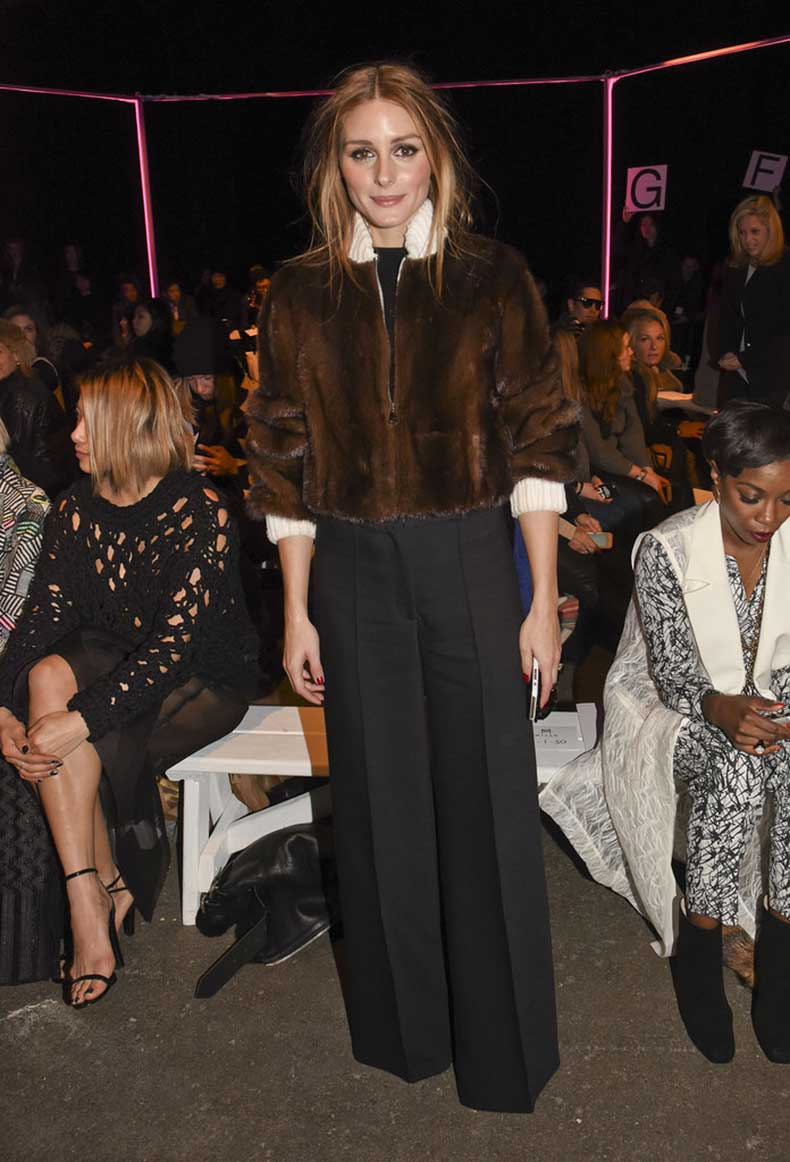 Olivia-paired-furry-bomber-wide-legged-trousers-Milly