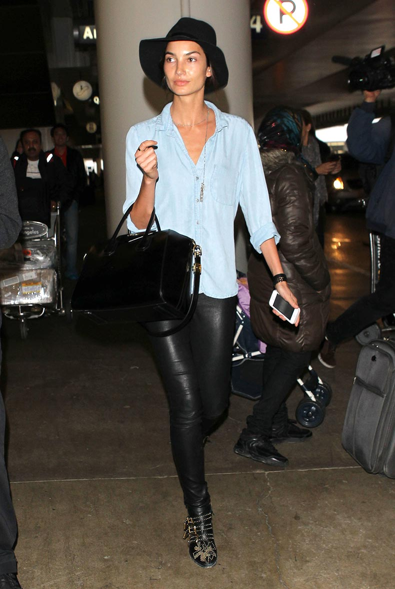leather-skinnies-studded-ankle-boots-Lily-Aldridge-looked