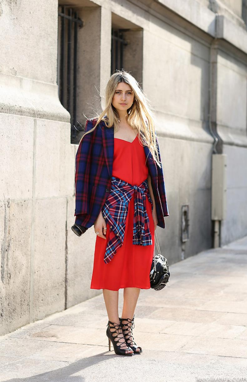 street-style-feminine-plaid-on-plaid-1