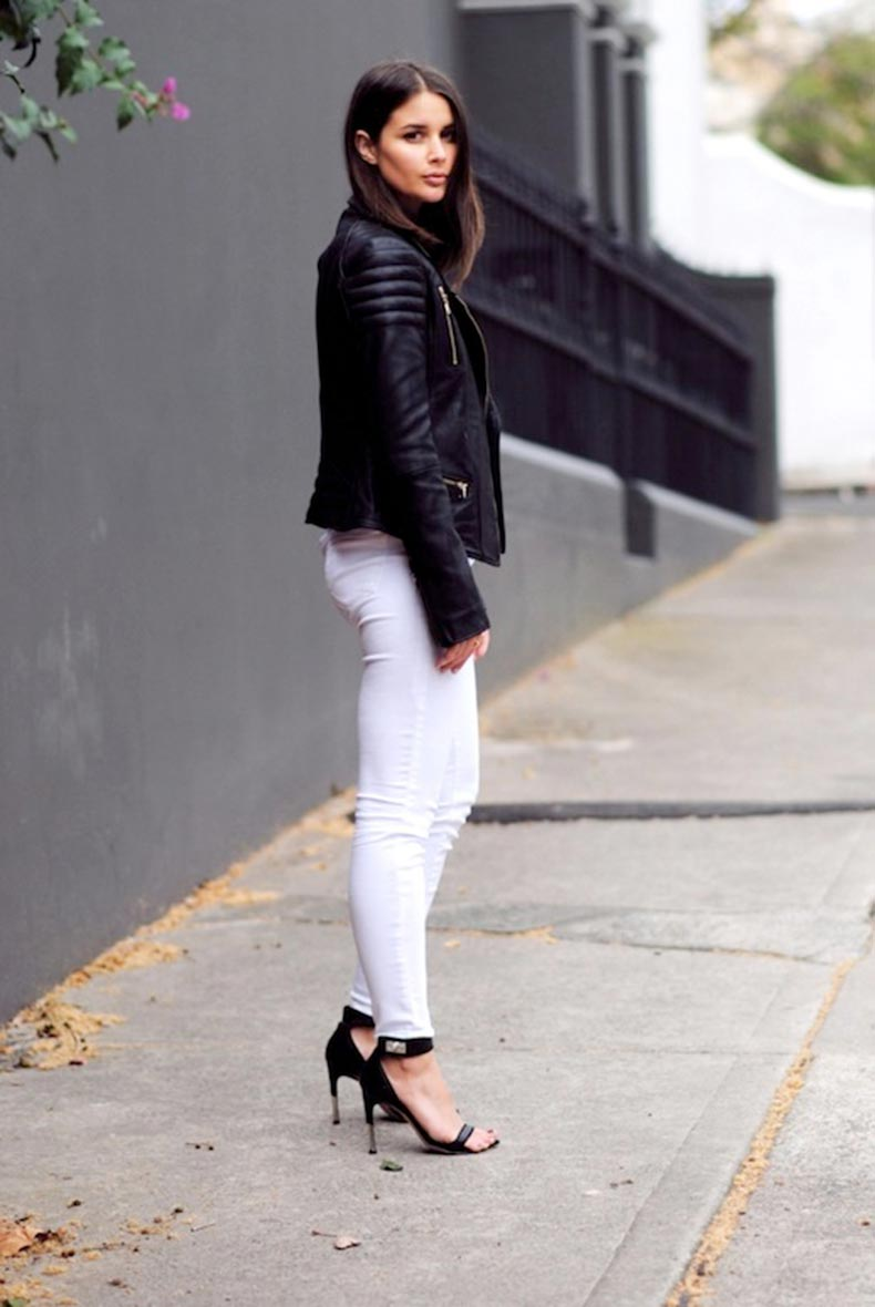 22-Le-Fashion-Blog-30-Fresh-Ways-To-Wear-White-Jeans-Leather-Moto-Jacket-Black-Sandals-Via-Harper-And-Harley