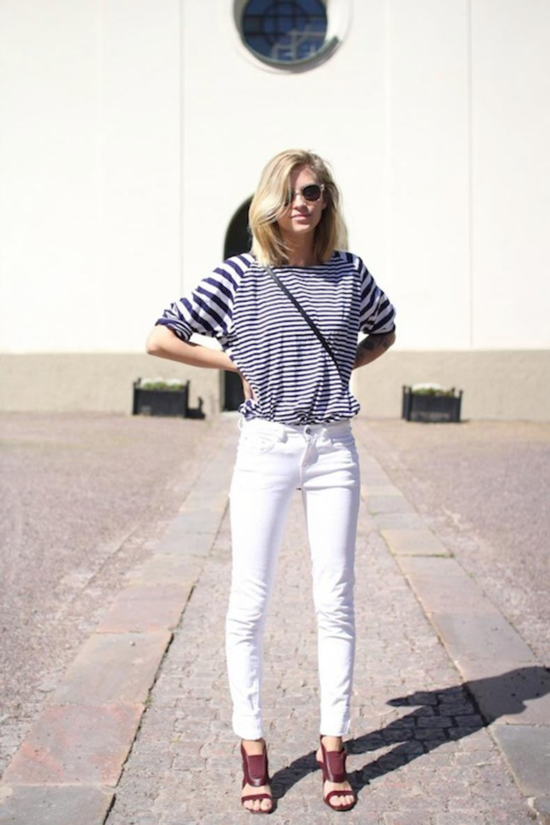 25-Le-Fashion-Blog-30-Fresh-Ways-To-Wear-White-Jeans-Striped-Top-Cut-Out-Sandals-Via-The-Fashion-Eaters