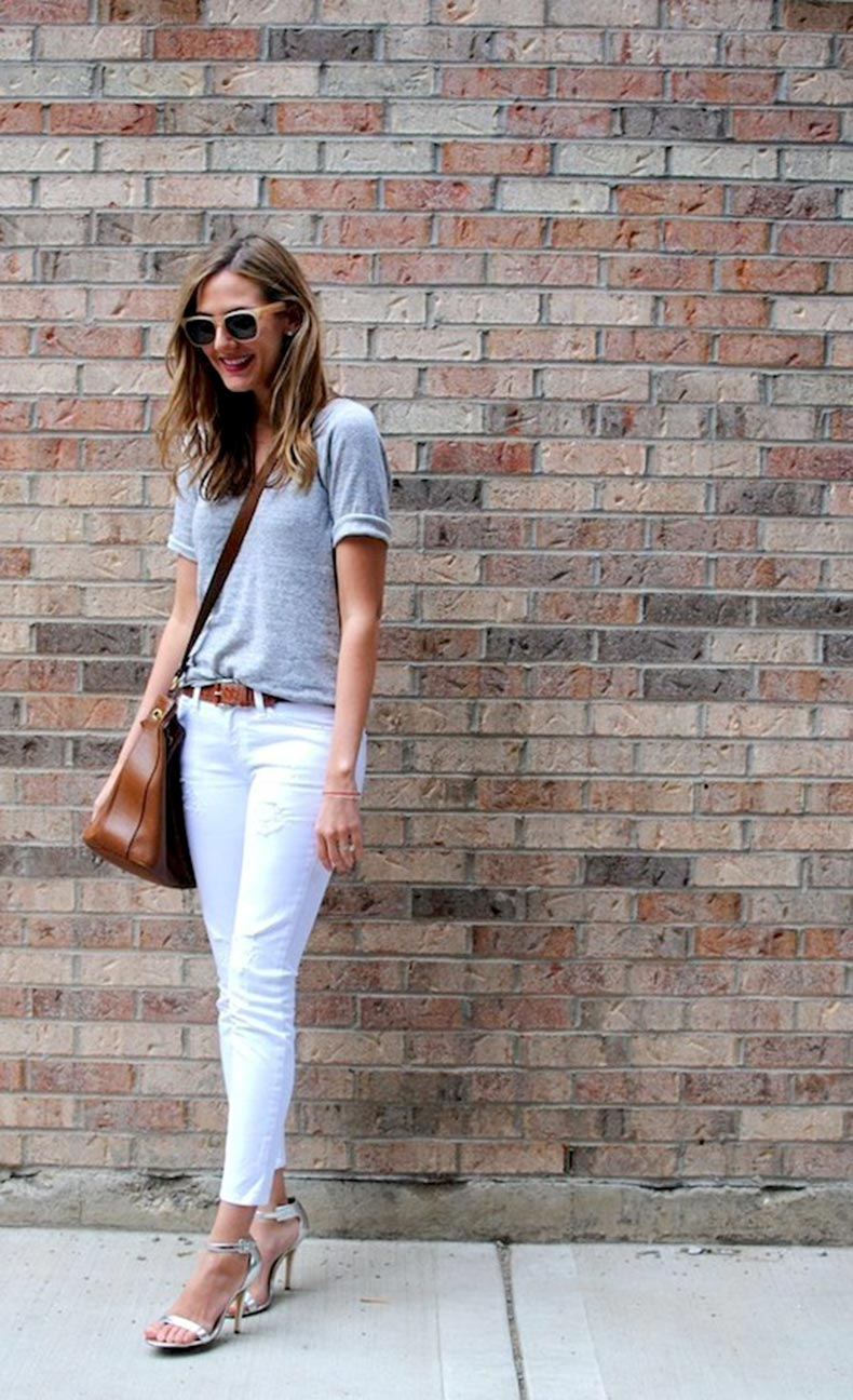 28-Le-Fashion-Blog-30-Fresh-Ways-To-Wear-White-Jeans-Grey-Tee-Crossbody-Silver-Metallic-Via-See-Anna-Jane