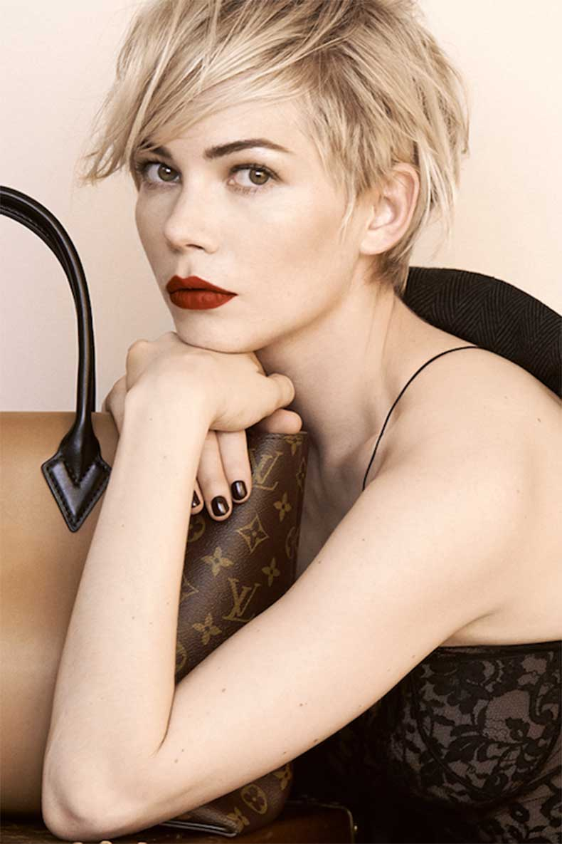 3-Le-Fashion-Blog-20-Inspiring-Short-Hairstyles-Michelle-Williams-Hair-Cut-Louis-Vuitton-Campaign