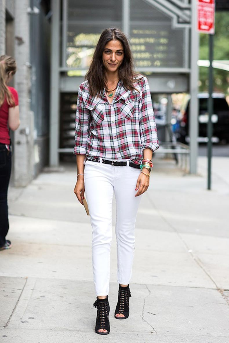 6-Le-Fashion-Blog-30-Fresh-Ways-To-Wear-White-Jeans-Plaid-Shirt-Boots-Capucine-Safyurtlu-Via-A-Love-Is-Blind