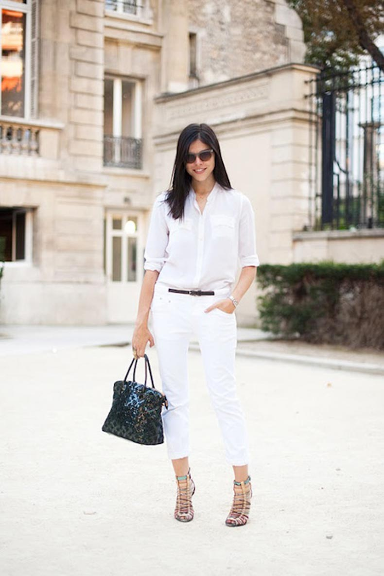 9-Le-Fashion-Blog-30-Fresh-Ways-To-Wear-White-Jeans-Emily-Wiess-Button-Down-Sandals-Via-Vanessa-Jackman