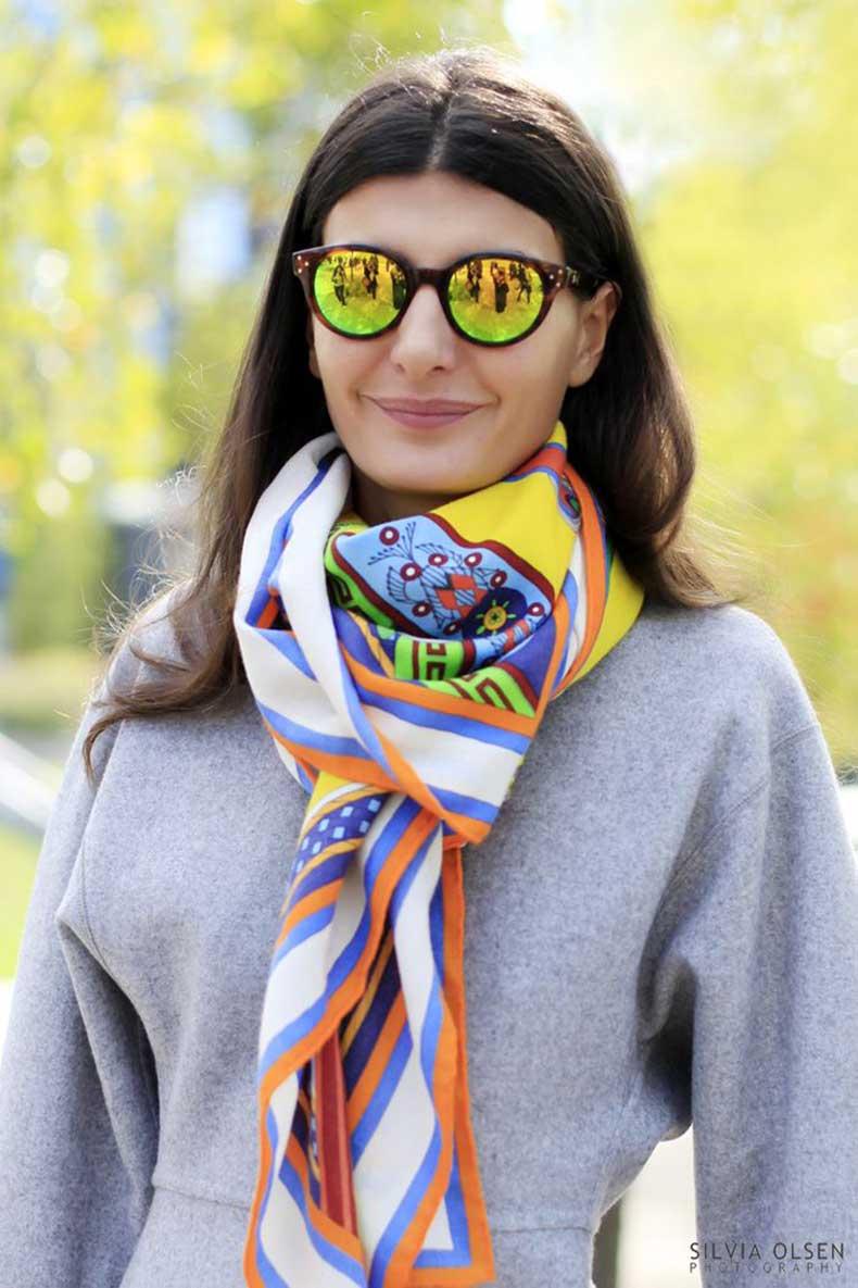Bright-silk-scarf-street-style